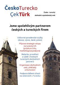 Služby ČeskoTurecko Brožurka 1