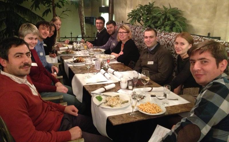 První setkání skupiny ČeskoTurecko v restauraci U Dominikána