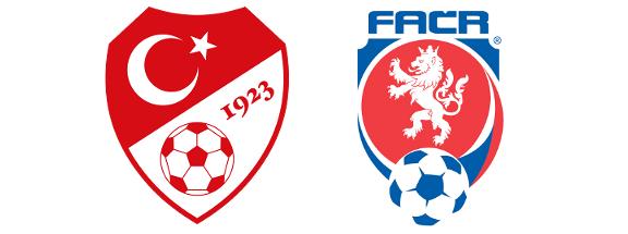 Čeští a turečtí fotbalisté se utkají o postup na Euro 2016