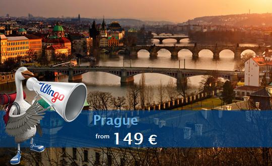 Levné letenky mezi Istanbulem a Prahou