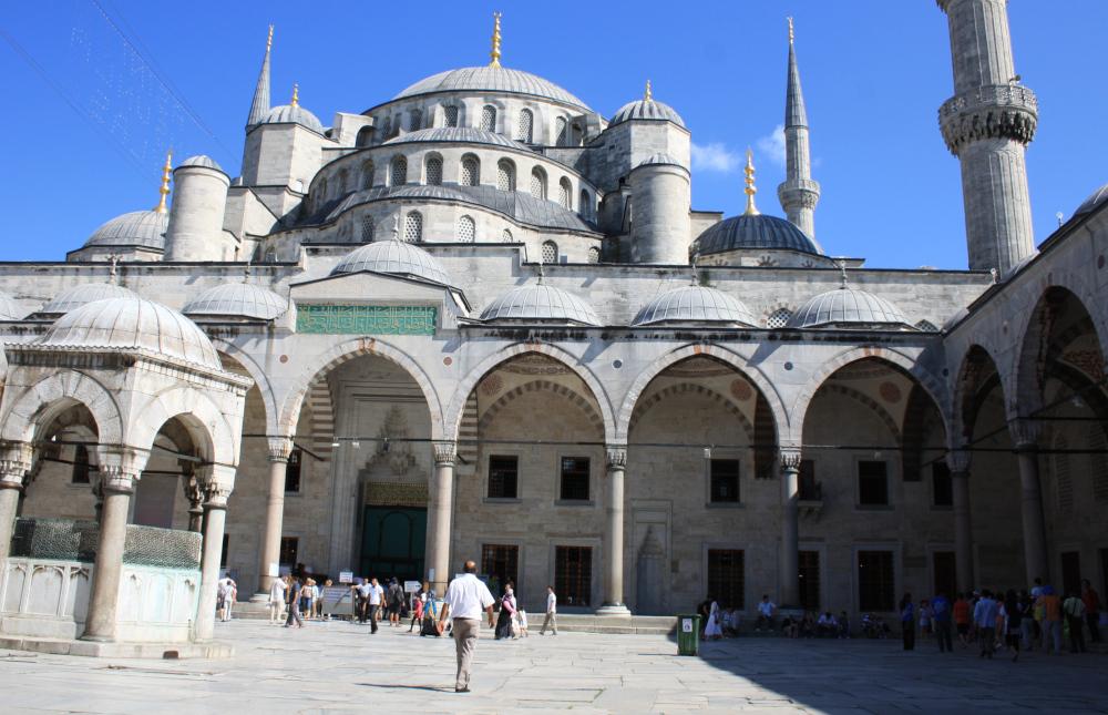 Ramadán Turecko mešita
