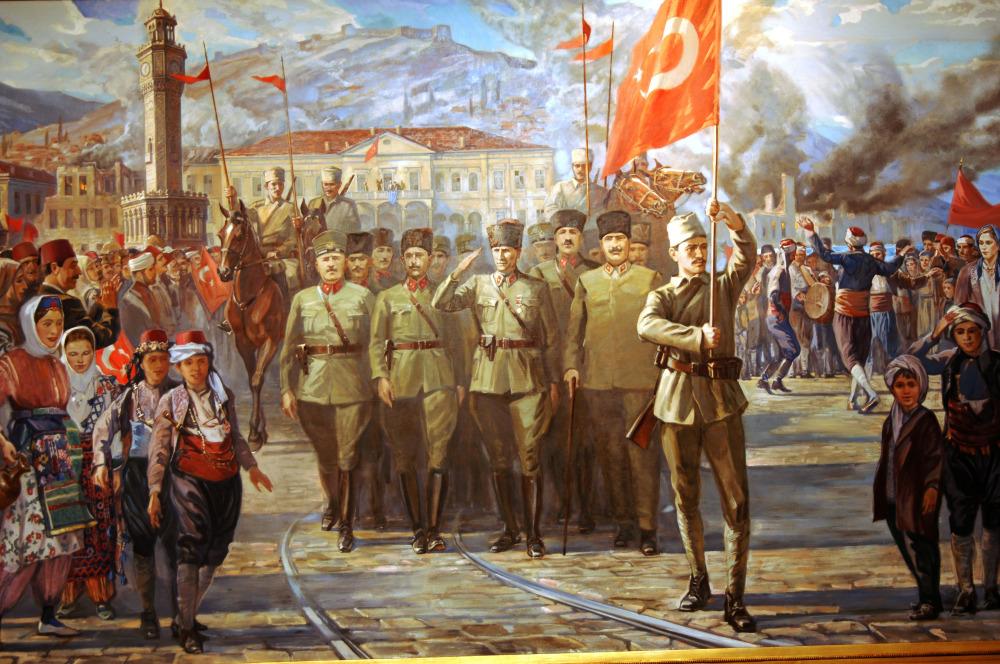 Den vítězství Turků nad Řeky – Zafer Bayram