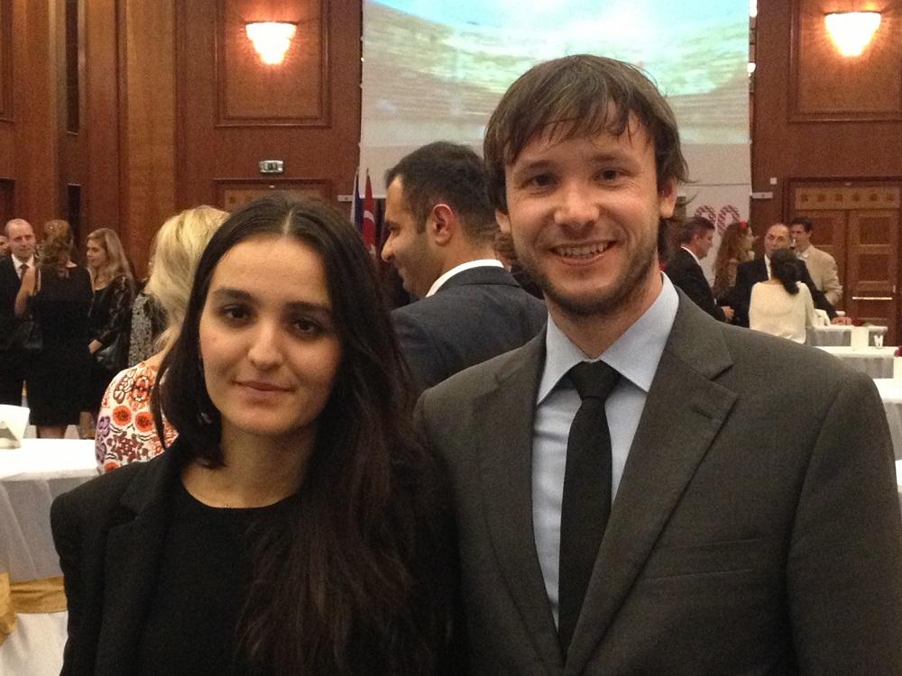 Recepce Velvyslanectví Turecké republiky v Praze