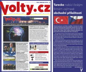 Napsali o nás - Volty.cz ČeskoTurecko