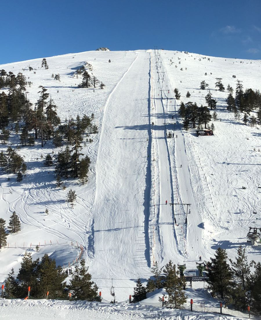Na lyžování do Turecka? Ano, jde to!