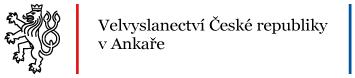 české velvyslanectví v ankaře logo