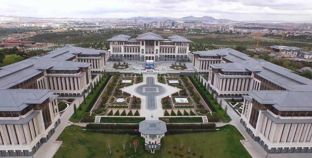 Ankara prezidentský palác