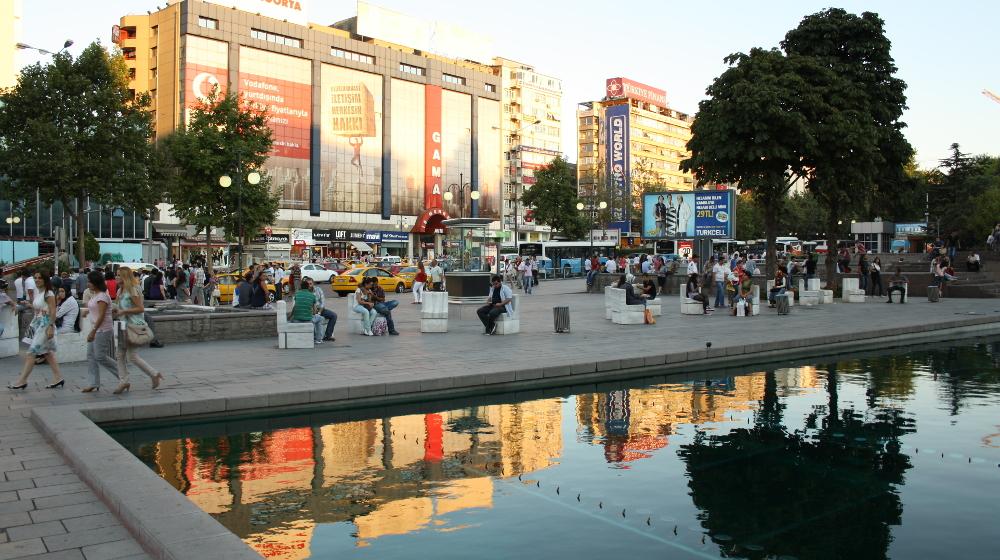 Ankara Hlavní město Turecka