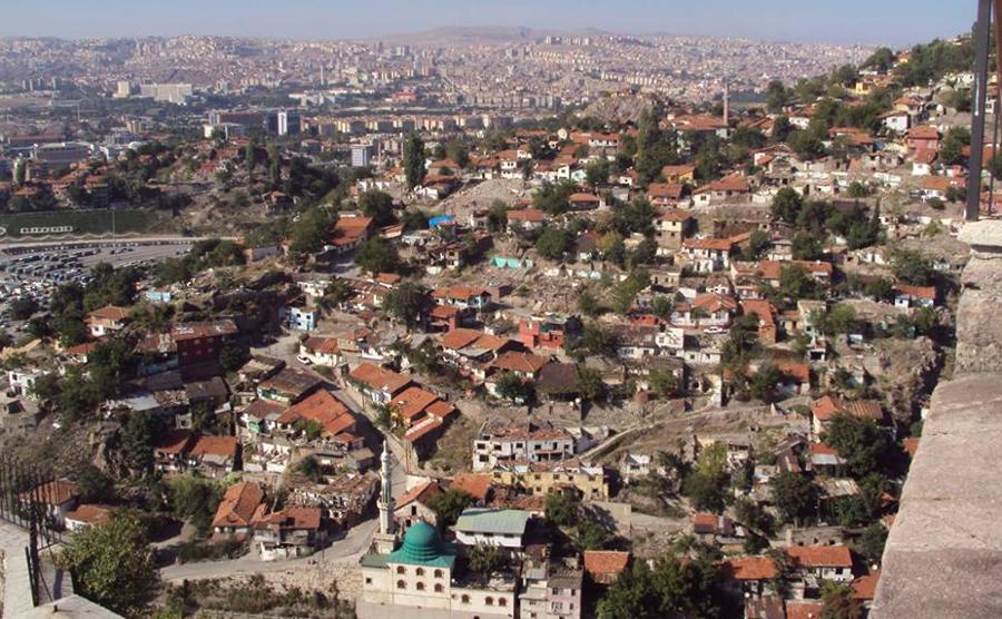 Ankara pohled na město