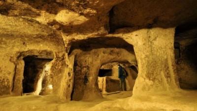 Objevené podzemní město v Nevşehiru je pravděpodobně největším podzemním komplexem na světě