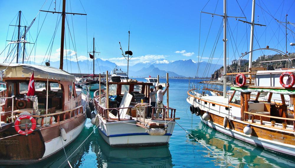 Antalya Turecko přístav