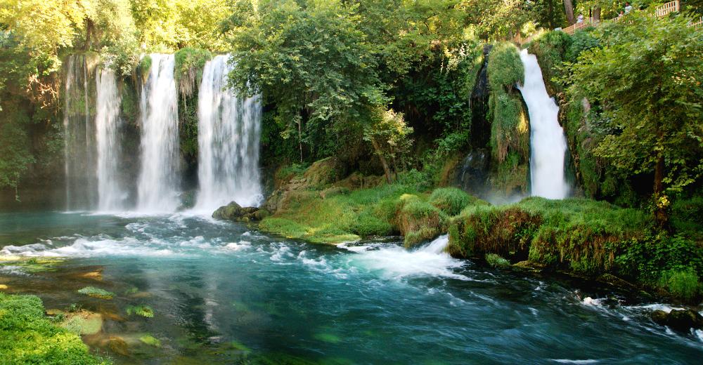 Vodopády Düden v Turecku