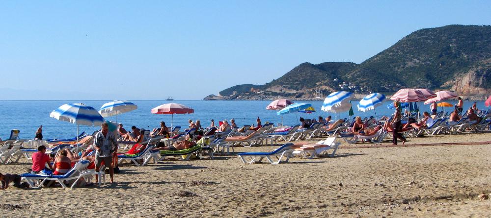 Alanya Kleopatřina pláž