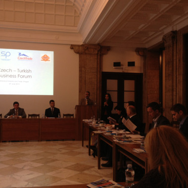 Česko-turecké Business fórum v Praze