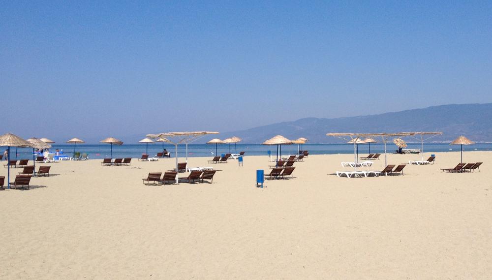 turecko pláž