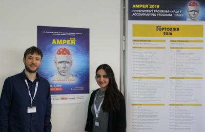ČeskoTurecko / ÇekTürk na veletrhu AMPER 2016 v Brně
