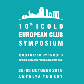 90 dnů do 10th ICOLD European Club Symposium 2016 v Antalya