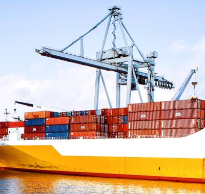 Obchod s tureckem kontejner