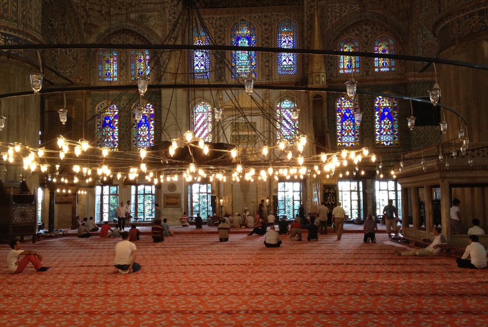 Istanbul Modrá mešita