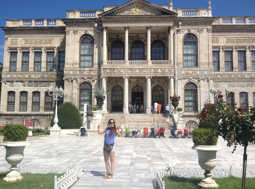 Istanbul Palác Dolmahahce