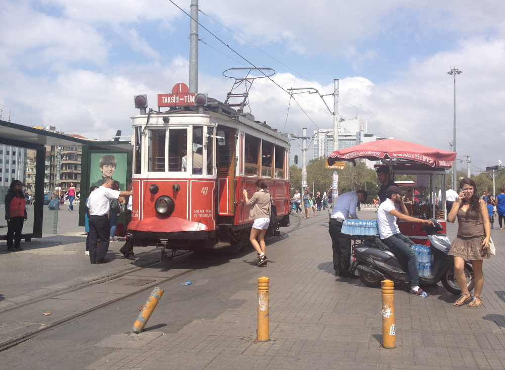 taksim tramvaj