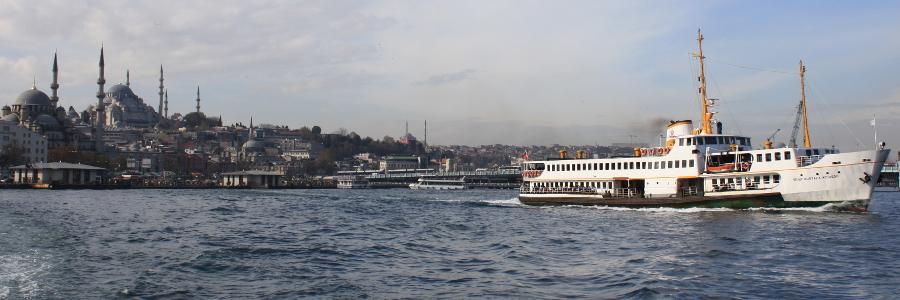 Turecko Istanbul loď