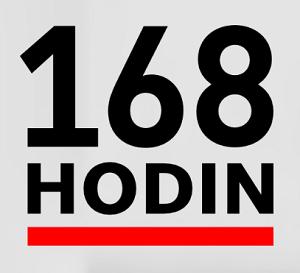 168 hodin logo