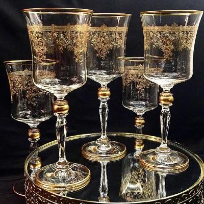 Turecká firma skleničky