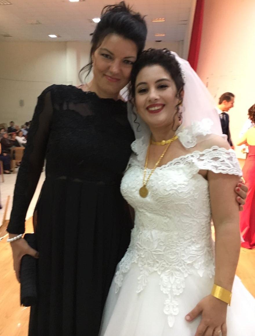turecká svatba svatební šaty