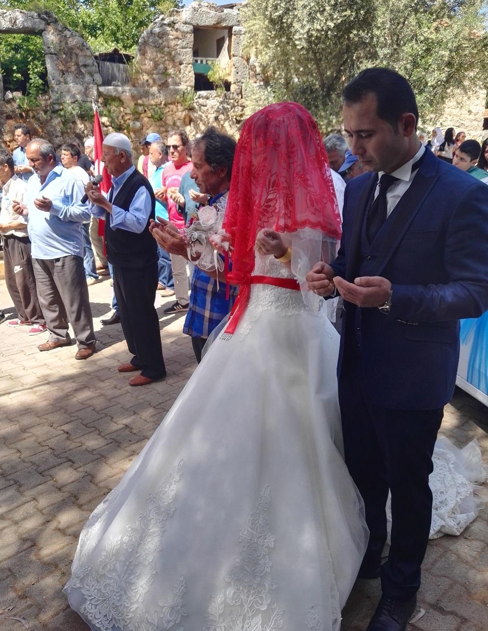 Turecká svatba modlitba