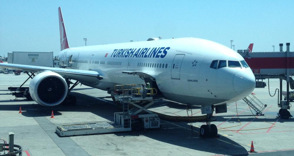 Turkish Airlines letadlo