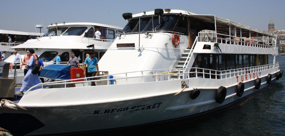 Istanbul loď Turyol