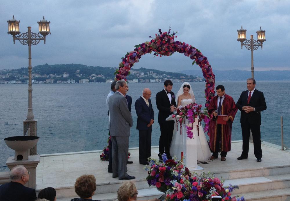 turecká svatba obřad