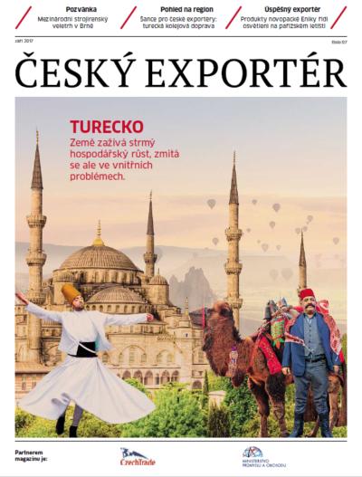 Turecko se představuje v zářijovém vydání měsíčníku Český exportér