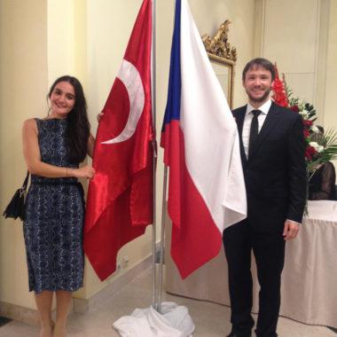 ČeskoTurecko na slavnostní recepci u příležitosti založení Turecké republiky