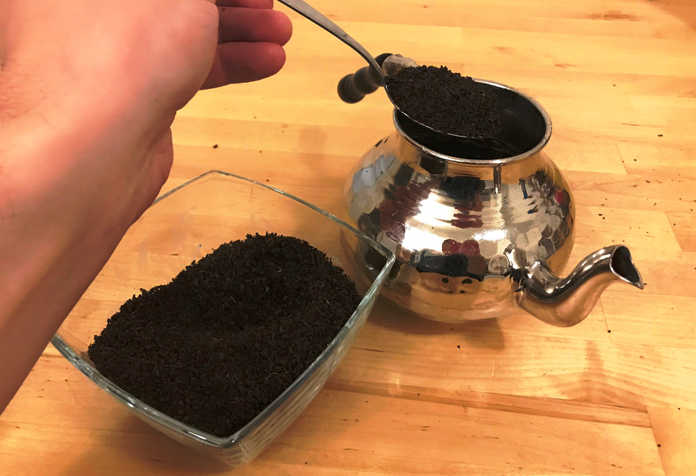 turecký čaj