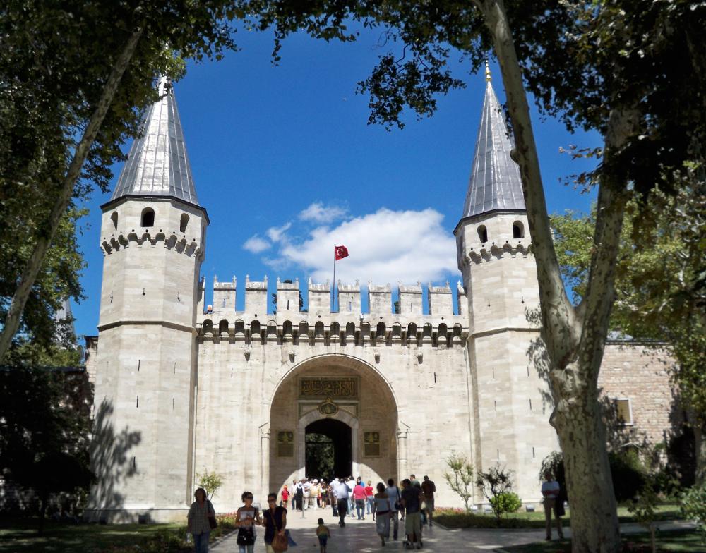 Palác Topkapi Istanbul
