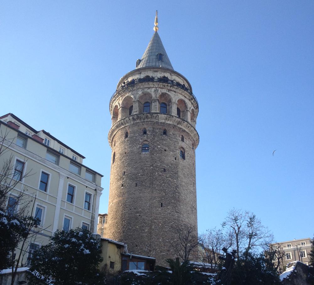 Galatská věž Istanbul