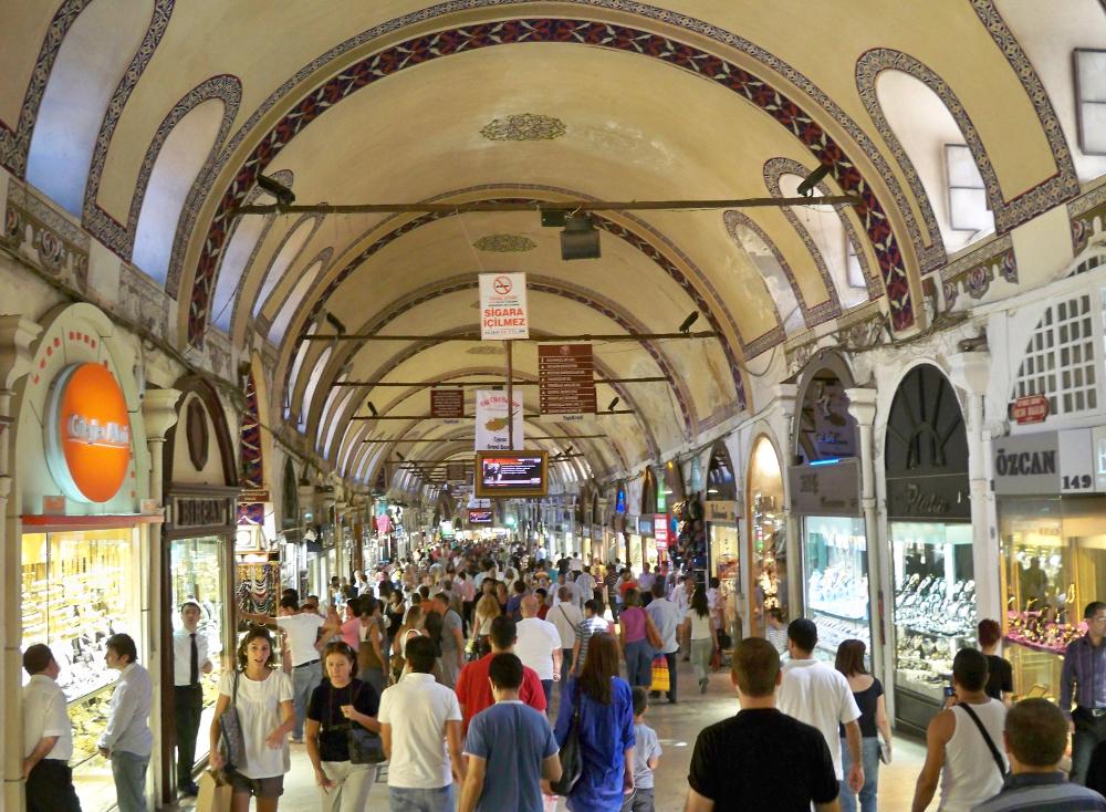 Velký bazar Istanbul
