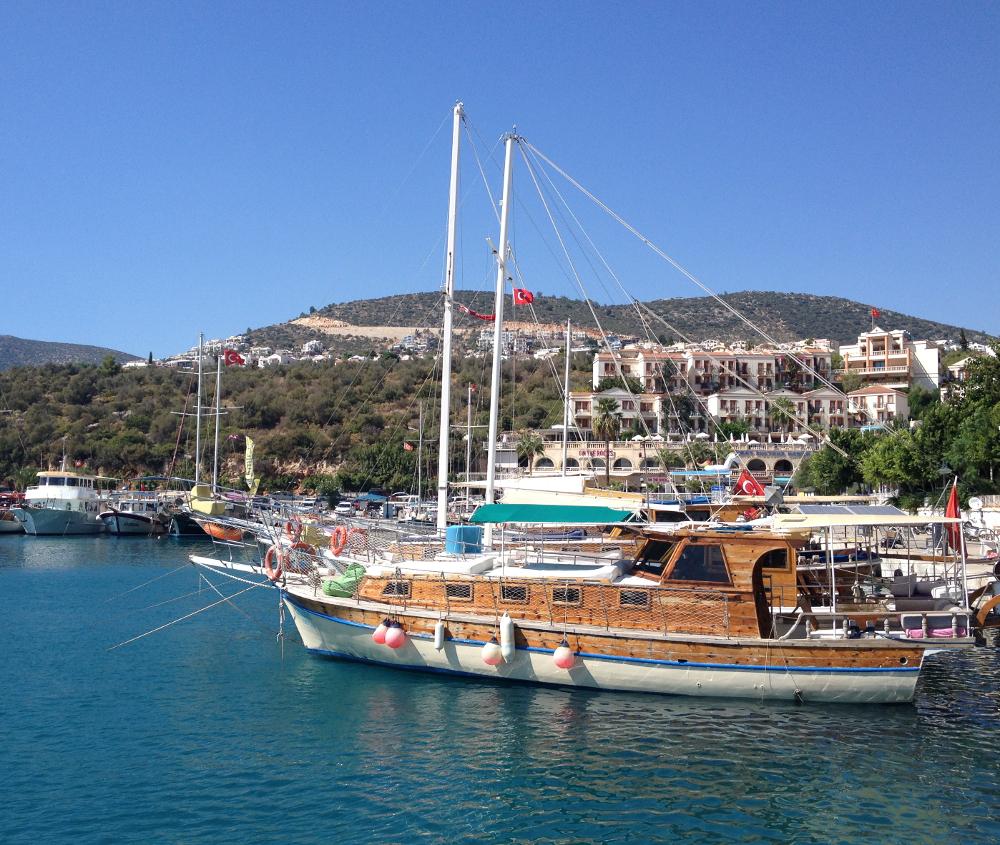 Turecko lodě