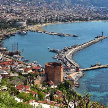 Alanya – město, kde se turecky skoro nedomluvíte