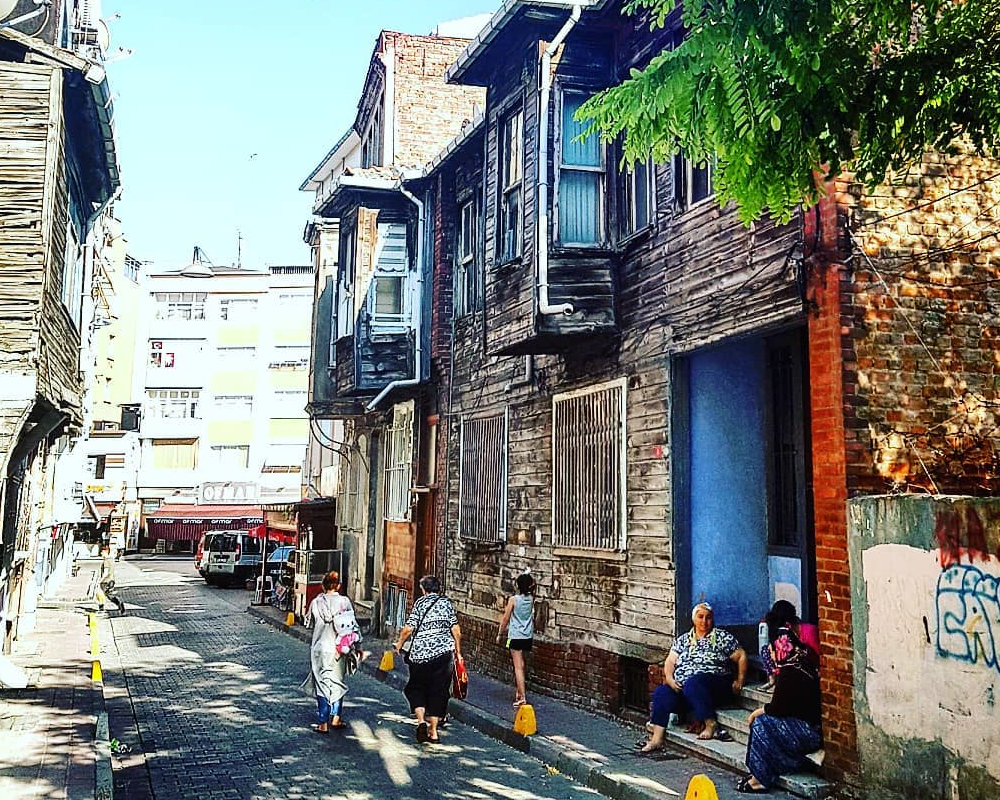 Čtvrť Samatya Istanbul