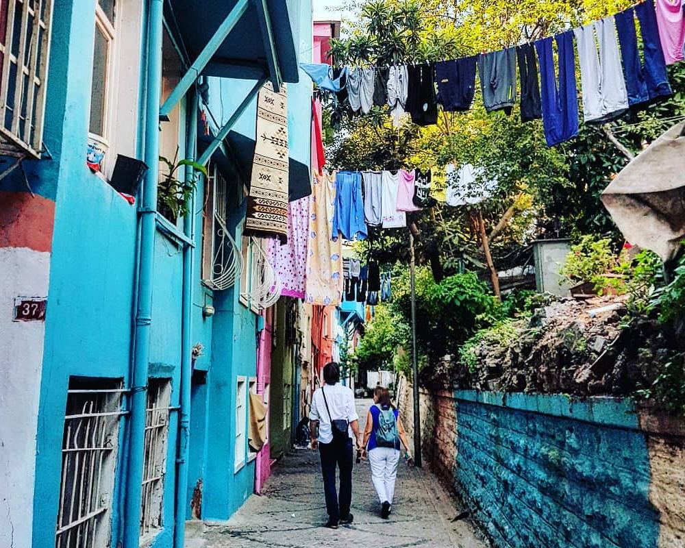 Stará istanbulská čtvrť Samatya dnes Kocamustafapaşa