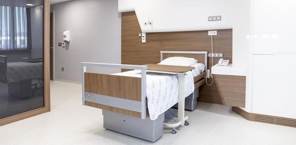 nemocniční pokoj nemocnice Medicana Turecko