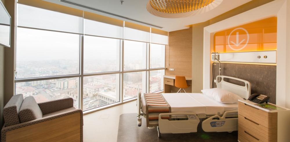 pokoj v turecké nemocnici