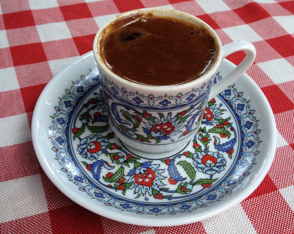 Turecká káva hrníček