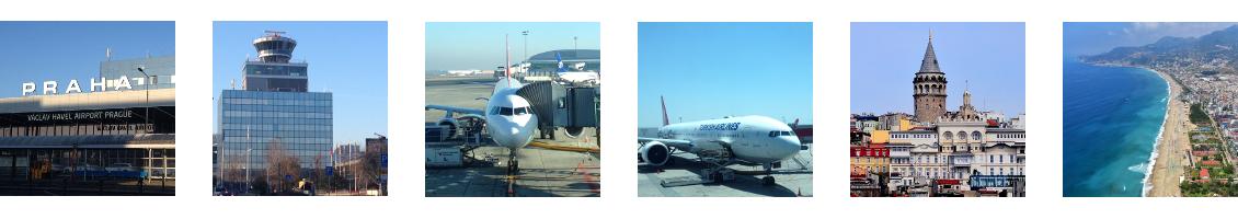 Letenky z Prahy do Turecka
