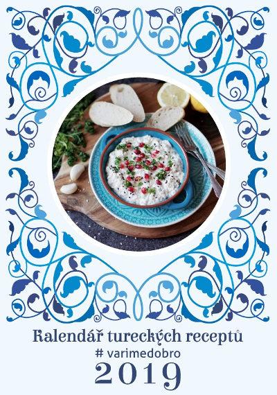 Kalendář tureckých receptů 2019 s kterým uvaříte dobro(ty)