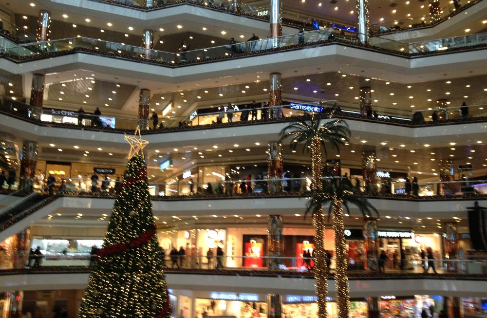 Vánoční stromek Turecko