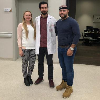 Transplantace vlasů a výlet s přítelkyní do Istanbulu